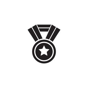 Medal icon logo design vector template