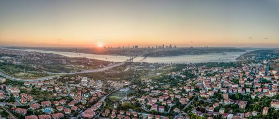 Fotobehang Las Vegas İstanbul Panorama