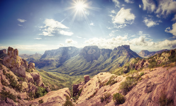 Sunny Day at the Big Bend National Park