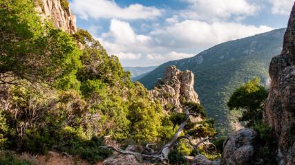 Panorama roccioso sardo