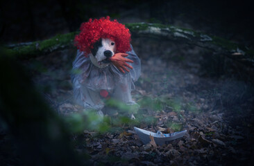 Gruseliges Hundeshooting: Clown Pennywise ist zurück