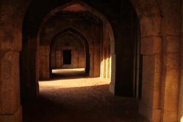 old mosque interior