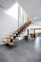 Modern interior design - stairs