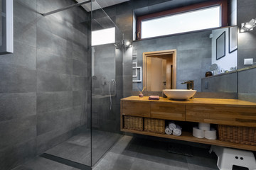 Modern interior design - bathroom