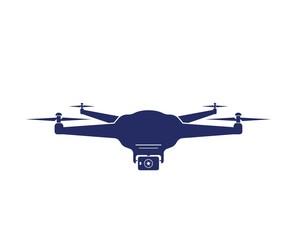 drone icon logo vector illustration design