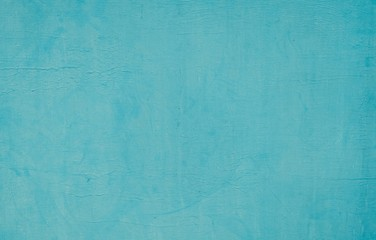 Texture of Blue Turquoise Paint Wall Background Wall mural