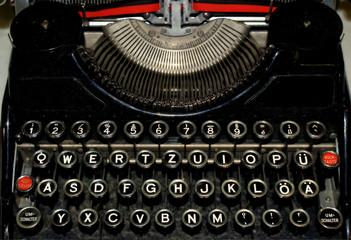 Alte Schreibmaschine