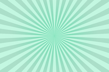 Green pastel colors rays abstract background, can use for test the resolution and focus of cameras and photo or cinema lens.