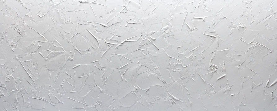 white texture putty wall, panorama rough background
