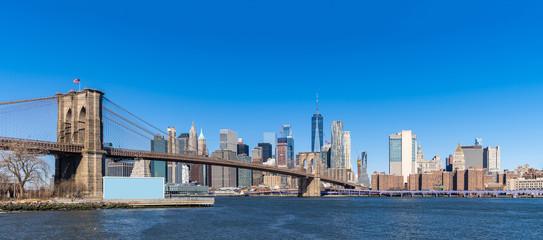 Wall Mural - Brooklyn bridge New York