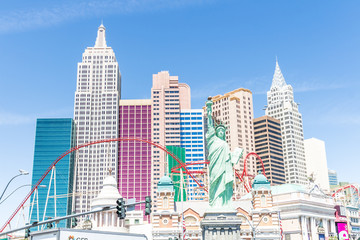 Foto op Aluminium Las Vegas New York New York - Las Vegas, Nevada, USA