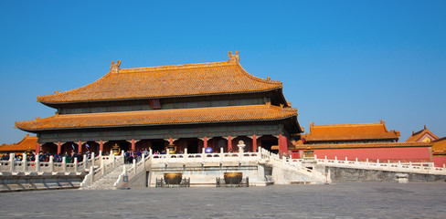 Foto op Plexiglas Peking The Forbidden City