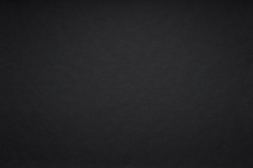Fototapete - Grain black dark paint wall or black paper background or texture
