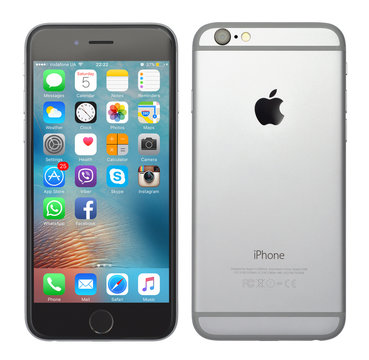 Space grey color iPhone 6