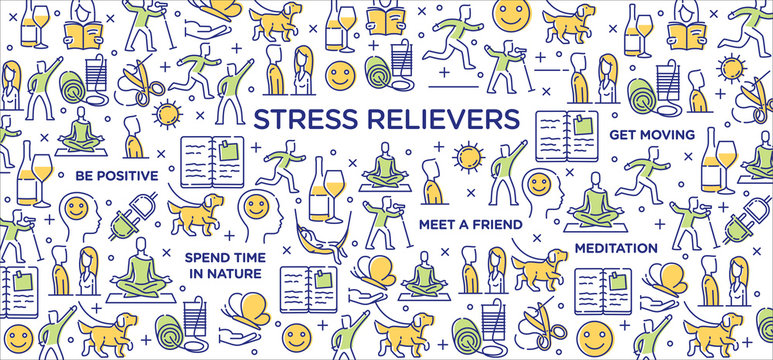 Stress Relievers - Conceptual Image