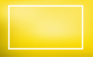 Border template with yellow background