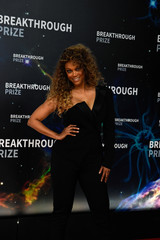 Tyra Banks attends the eighth annual Breakthrough Prize awards in Mountain View