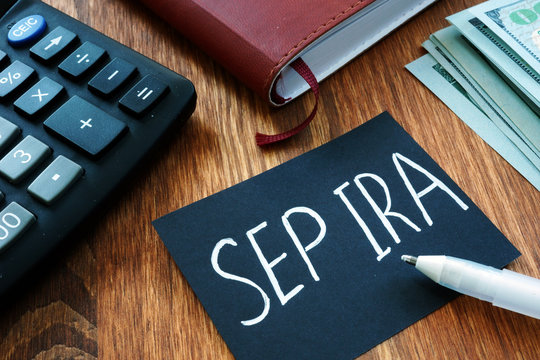 Writing note shows the text Sep ira