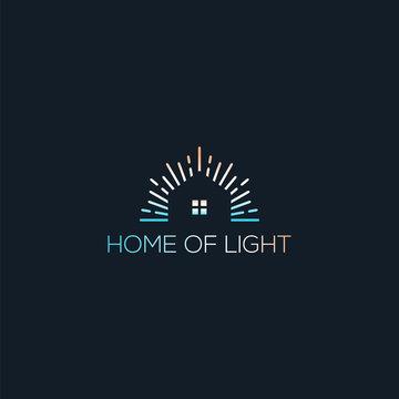 home of light logo line