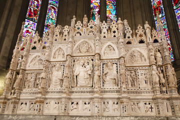 Altar of Arezzo cathedral, Tuscany