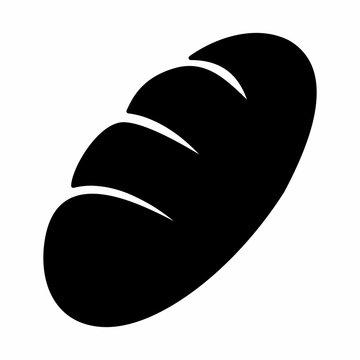 Black bread icon