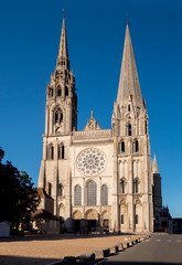 Europe, France, Chartres, Cathedral
