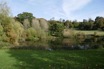 Autumn English countryside