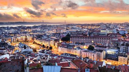 Wall Mural - Lisbon - Lisboa cityscape, Portugal