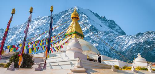 Bodhnath stupa Fototapete