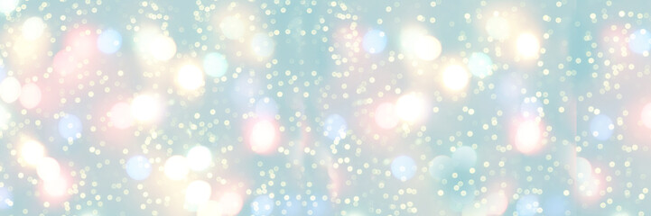 Christmas background. Festive elegant abstract background with bokeh lights and stars. abstract banner for website, multicolored purple bokeh, blurred background, unobtrusive background
