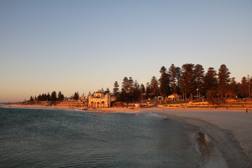 Dusk at Cottesloe Beach in Perth, Australia Oceania