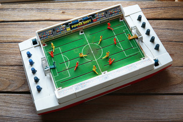 Power Shot Soccer Board & Traditional Games by Tomy toys.