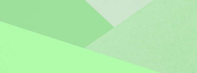 Different green pale backgrounds. Wall mural
