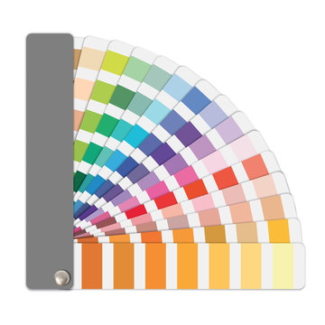 Color sample guide vector