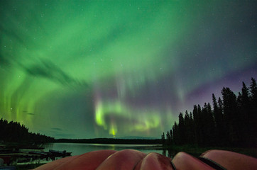 Papiers peints Aurore polaire Northern Lights Canada