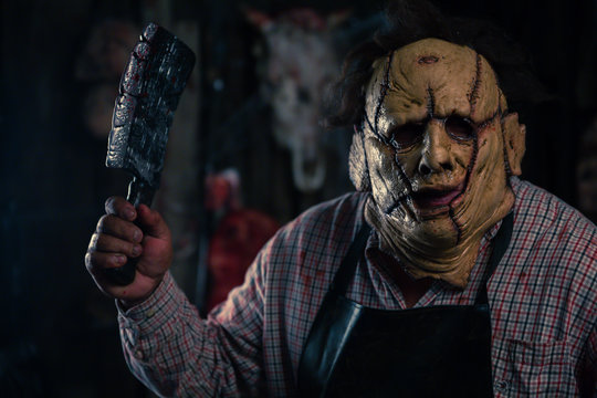 leatherface serial killer halloween costume