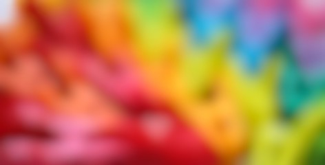 Abstract rainbow color background, soft smooth colorful vibrant unicorn gradient colors on white background, Happy life, lgbt flag, freedom, creativity and diversity concept, copy space Fototapete