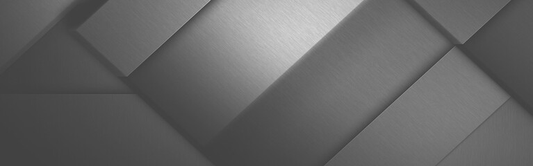 Gray background, brushed metal texture