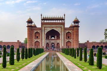 The Main Gate of Taj Mahal