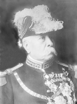 Mexican President Porfirio Dxedaz (1830-1915), president of Mexico (1877-80, 1884-1911), established an authoritarian government which was overturned by the Mexican Revolution, 1910-20