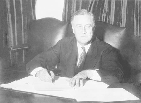 Franklin D. Roosevelt ended Prohibition with the signing beer bill, allowing the manufacture