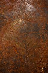 corten steel surface textured background.vertical image