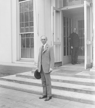 Henry Ford 1863-1947 in Washington D.C. February 9 1927. LC-DIG-npcc-16583