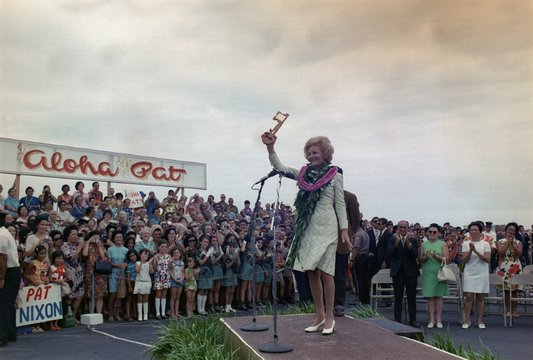 First Lady campaigning in HawaII