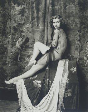 Actress and Ziegfeld girl Drucilla Strain
