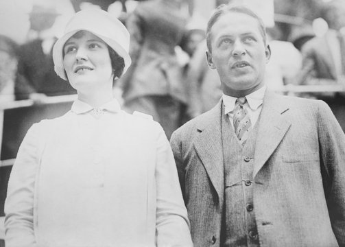 Bobby Jones with his wife, Mary Rice Malone Jones, ca. 1925. From 1922 to 1927, while dominating