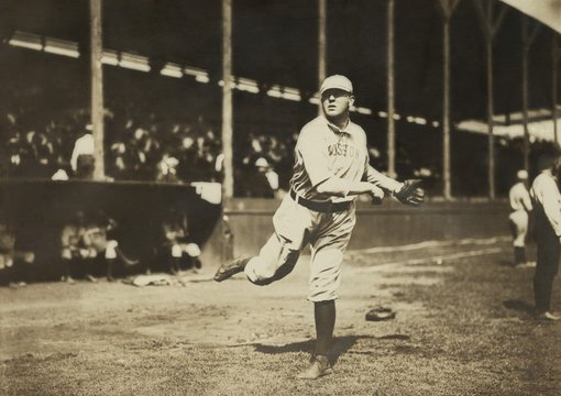 Cy Young pitched for five teams over his 22-season baseball career from 1890-1911