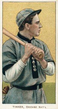 Joe Tinker, 1910-1911 baseball card