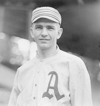 Bob Shawkey, pitched for the Philadelphia Athletics from 1913-1915