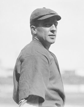 Joe Tinker, 1913, when he was a player-manager with the Cincinnati Reds for one season